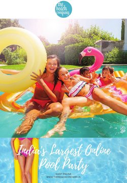 Clothes, shoes & accessories offers in the The Beach Company catalogue ( Expires today)
