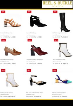 Offers of Boots in Heel and Buckle