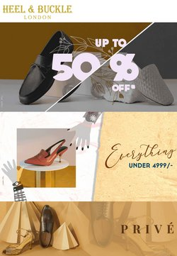 Heel and Buckle offers in the Heel and Buckle catalogue ( Expires today)