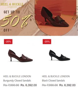 Heel and Buckle offers in the Heel and Buckle catalogue ( 12 days left)