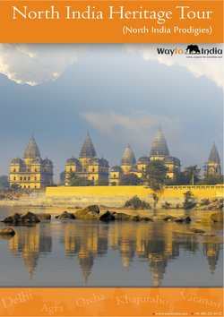 Travel offers in the Way to India catalogue ( 2 days left)