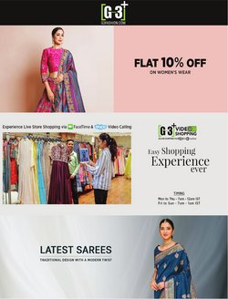 G3 Fashions offers in the G3 Fashions catalogue ( 7 days left)