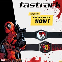 Apparel offers in the Fastrack catalogue in Delhi