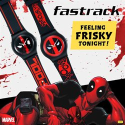 Offers from Fastrack in the Ahmedabad leaflet