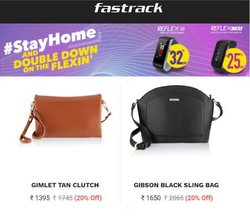 Fastrack offers in the Fastrack catalogue ( Expires tomorrow)