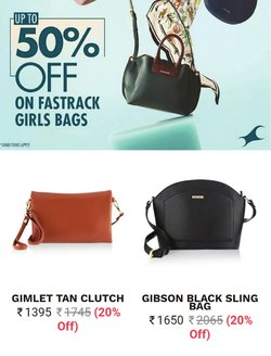 Fastrack offers in the Fastrack catalogue ( 12 days left)