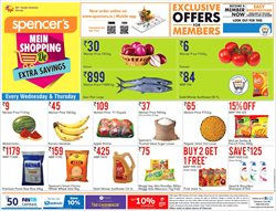 Offers from Spencer's in the Mumbai leaflet