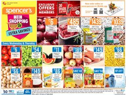 Offers from Spencer's in the Bangalore leaflet