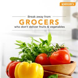 Food offers in the Spencer's catalogue in Delhi