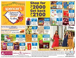 Supermarkets offers in the Spencer's catalogue in Kurnool