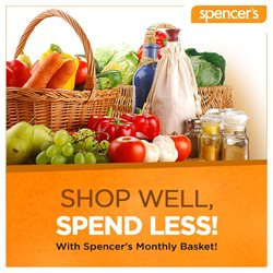Offers from Spencer's in the Hyderabad leaflet