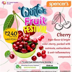 Supermarkets offers in the Spencer's catalogue in Delhi ( 2 days ago )