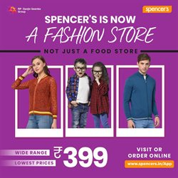 Spencer's catalogue ( More than a month )