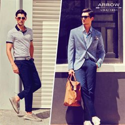 Clothes, shoes & accessories offers in the Arrow catalogue in Dehradun
