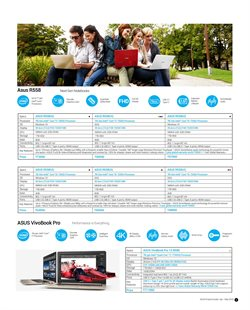 Offers from Asus in the Kanpur leaflet
