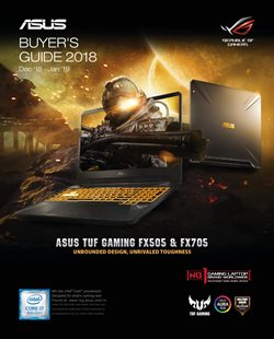 Offers from Asus in the Delhi leaflet