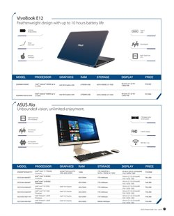 Offers from Asus in the Chennai leaflet
