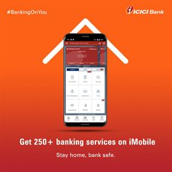 Banks & ATMs offers in the ICICI Bank catalogue ( More than a month )