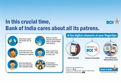 Bank of India catalogue ( 21 days left )