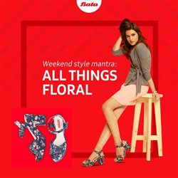 Clothes, shoes & accessories offers in the Bata catalogue in Bokaro Steel City