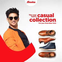 Offers from Bata in the Bangalore leaflet