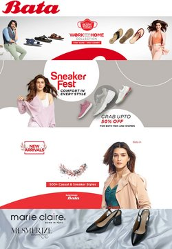 Clothes, shoes & accessories offers in the Bata catalogue ( Expires today)