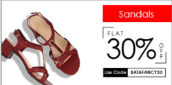Offers from Bata in the Chennai leaflet