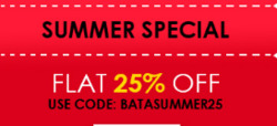 Offers from Bata in the Delhi leaflet