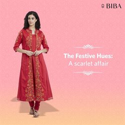 Clothes, shoes & accessories offers in the Biba catalogue in Delhi