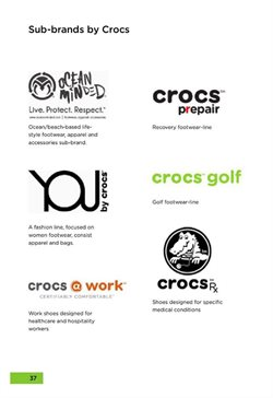 Offers from Crocs in the Bangalore leaflet