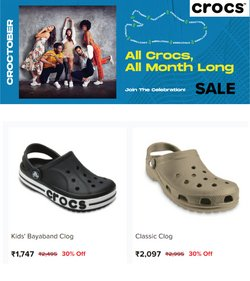 Crocs offers in the Crocs catalogue ( 11 days left)