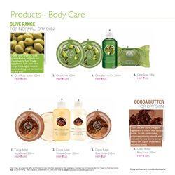 Offers of Scrub in The Body Shop