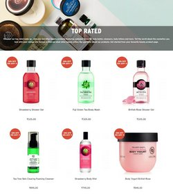 Offers of Top in The Body Shop