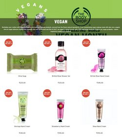 Offers of Soap in The Body Shop
