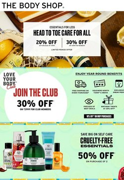 Perfume & Beauty offers in the The Body Shop catalogue ( Expires today)