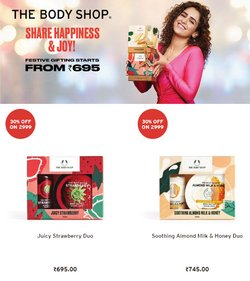 Perfume & Beauty offers in the The Body Shop catalogue ( 9 days left)