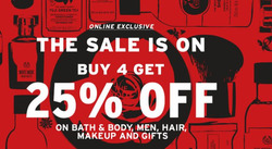 Offers from The Body Shop in the Bangalore leaflet