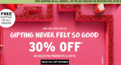 Perfume & Beauty offers in the The Body Shop catalogue in Ahmedabad