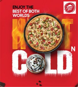 Restaurants offers in the Pizza Hut catalogue ( 9 days left)
