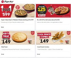 Restaurants offers in the Pizza Hut catalogue ( 17 days left)