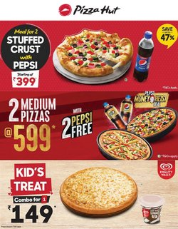 Restaurants offers in the Pizza Hut catalogue ( 11 days left)