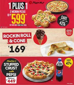 Restaurants offers in the Pizza Hut catalogue ( 13 days left)