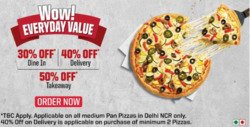 Restaurants offers in the Pizza Hut catalogue in Allahabad