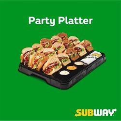 Offers from Subway in the Mumbai leaflet