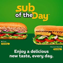 Restaurants offers in the Subway catalogue in Bhubaneswar
