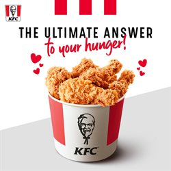 Restaurants offers in the KFC catalogue in Hyderabad
