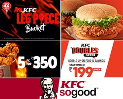 Restaurants offers in the KFC catalogue in Bangalore ( More than a month )