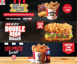 KFC offers in the KFC catalogue ( 7 days left)