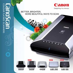 Offers from Canon in the Ahmedabad leaflet
