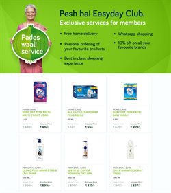 Shampoo offers in the Easyday catalogue in Bangalore